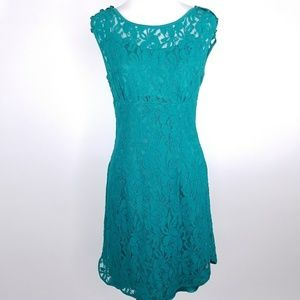 Cynthia Rowley Lace Overlay Dress Size 6